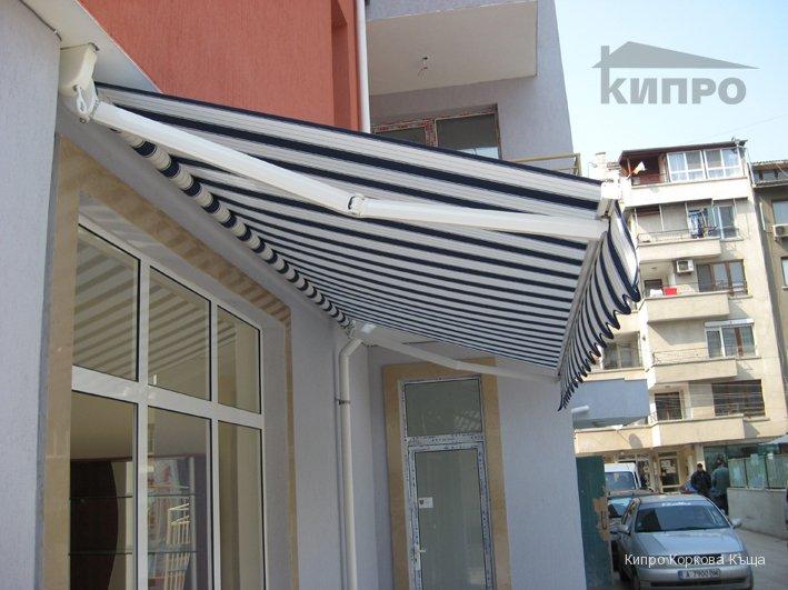 Стилни сенници осигуряват ефективна и надеждна слънцезащита